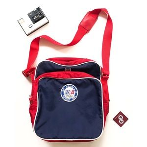 Vintage Levi's 1984 Olympics Official Flight Bag